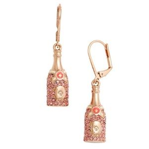 Kate Spade Make Magic Champagne Earrings